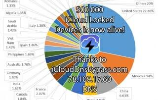 iCloud DNS Bypass 500K